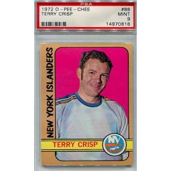 1972/73 O-Pee-Chee Hockey #88 Terry Crisp PSA 9 (Mint) *0816 (Reed Buy)