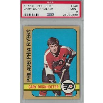 1972/73 O-Pee-Chee Hockey #146 Gary Dornhoefer PSA 9 (Mint) *0899 (Reed Buy)