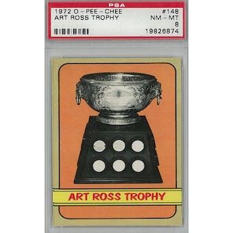 1972/73 O-Pee-Chee Hockey #148 Art Ross Trophy Winners PSA 8 (NM-MT) *6874 (Reed Buy)