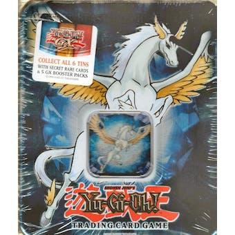 Upper Deck Yu-Gi-Oh 2007 Holiday Crystal Beast Sapphire Pegasus Tin