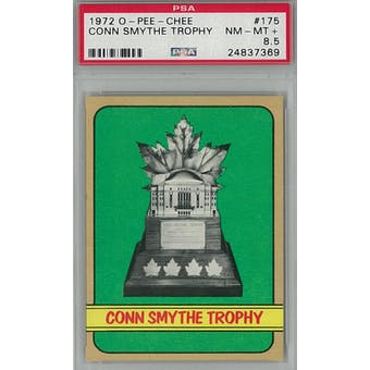 1972/73 O-Pee-Chee Hockey #175 Conn Smythe Trophy Winners PSA 8.5 (NM-MT+) *7369 (Reed Buy)
