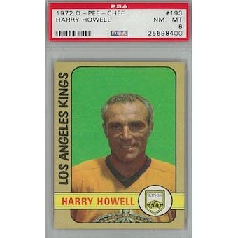 1972/73 O-Pee-Chee Hockey #193 Harry Howell PSA 8 (NM-MT) *8400 (Reed Buy)