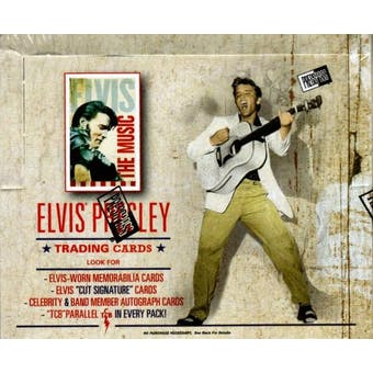 Elvis The Music 24-Pack Box (2007 Press Pass)