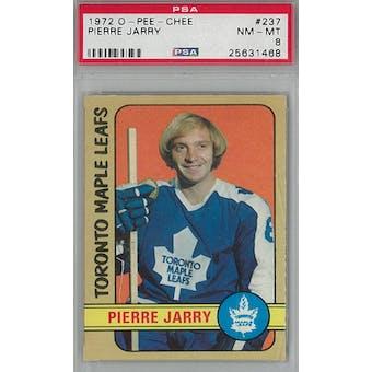 1972/73 O-Pee-Chee Hockey #237 Pierre Jarry PSA 8 (NM-MT) *1468 (Reed Buy)