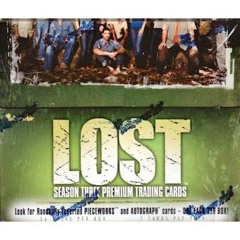 LOST Season Three Hobby Box (2007 InkWorks)
