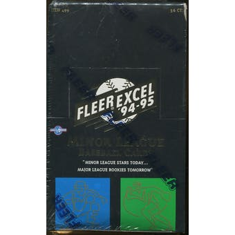1994/95 Fleer Excel Minor League Baseball Hobby Box