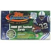 2000 Topps Finest Football Hobby Box