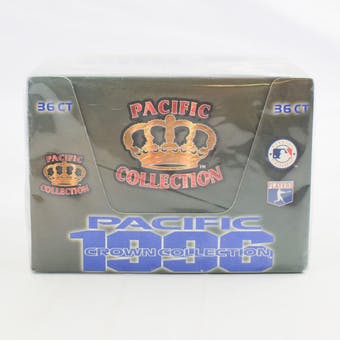 1996 Pacific Crown Collection Baseball Bilingual Hobby Box (Reed Buy)