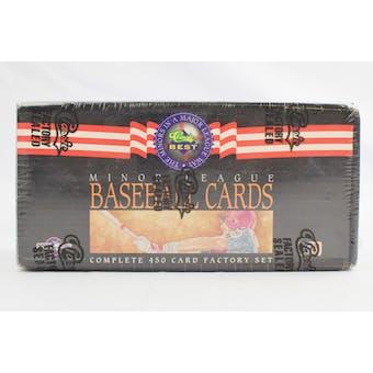 1992 Classic Best Minor League Baseball Factory Set (Reed Buy)