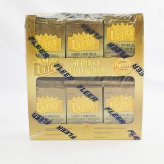 1995 Fleer Ultra Series 1 Football Jumbo Box (Reed Buy)