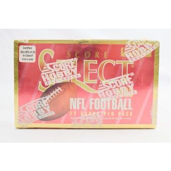 1993 Score Select Football Hobby Box (Reed Buy)