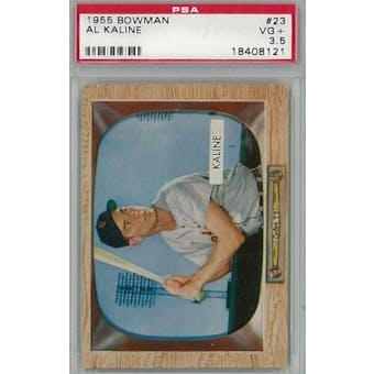 1955 Bowman Baseball #23 Al Kaline PSA 3.5 (VG+) *8121 (Reed Buy)