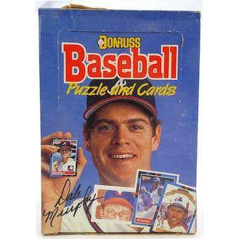 1988 Donruss Baseball Wax Box (Reed Buy)