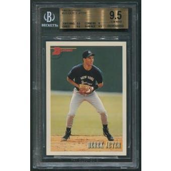 1993 Bowman Baseball #511 Derek Jeter Rookie BGS 9.5 (GEM MINT)