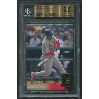 2001 Upper Deck Baseball #295 Albert Pujols Rookie BGS 9.5 (GEM MINT)