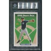 1993 Topps Baseball #98 Derek Jeter Rookie BGS 9 (MINT)