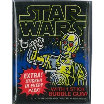 1977 Topps Star Wars 1st Series Wax Pack (Reed Buy)