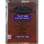 1996/97 Topps Chrome Basketball Hobby Pack (Reed Buy)