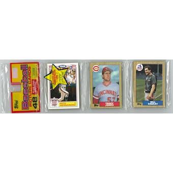 1987 Topps Baseball Rack Pack (McGwire Bottom) (Reed Buy)