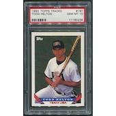 1993 Topps Traded Baseball #19T Todd Helton Rookie PSA 10 (GEM MT)
