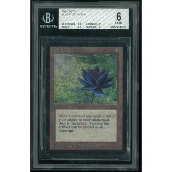 Magic the Gathering Beta Black Lotus BGS 6 (9.5, 6, 6.5, 6)