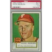 1952 Topps Baseball #216 Richie Ashburn PSA 3.5 (VG+) *9497 (Reed Buy)