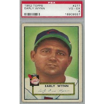 1952 Topps Baseball #277 Early Wynn PSA 4 (VG-EX) *9557 (Reed Buy)