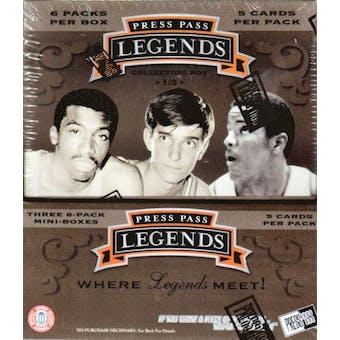 2007/08 Press Pass Legends Basketball Hobby Box