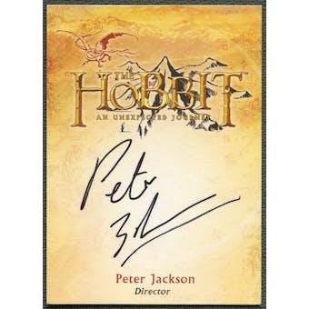 2016 The Hobbit An Unexpected Journey #CA1 Peter Jackson Auto