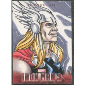 2013 Iron Man 3 Thor Sketch Card #1/1