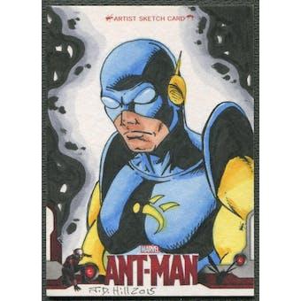 2015 Ant Man Yellowjacket Sketch Card #1/1