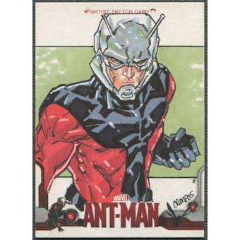2015 Ant Man Ant Man Sketch Card #1/1