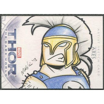 2013 Thor The Dark World Ares Sketch Card #1/1