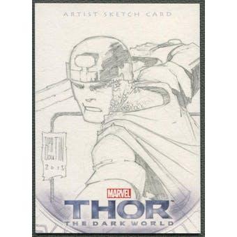 2013 Thor The Dark World Balder Sketch Card #1/1