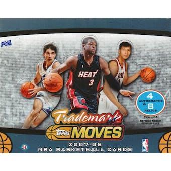 2007/08 Topps Trademark Moves Basketball Hobby Box