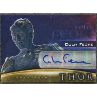 2011 Thor Movie #CF Colm Feore as King Laufey Auto
