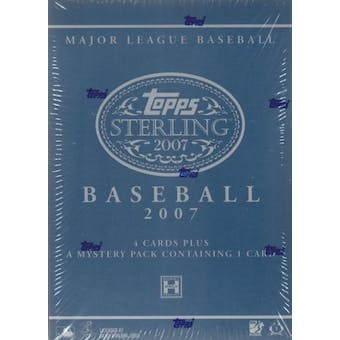 2007 Topps Sterling Baseball Hobby Box