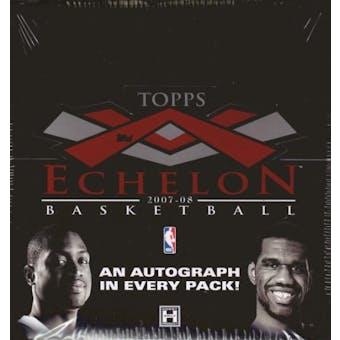 2007/08 Topps Echelon Basketball Hobby Box