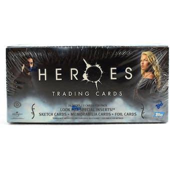 Heroes Season 1 Hobby Box (2007 Topps)