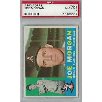 1960 Topps Baseball #229 Joe Morgan PSA 8 (NM-MT) *5332 (Reed Buy)