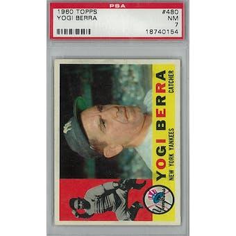 1960 Topps Baseball #480 Yogi Berra PSA 7 (NM) *0154 (Reed Buy)