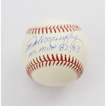 Dale Murphy Autographed Atlanta Braves Official Baseball (DACW COA)