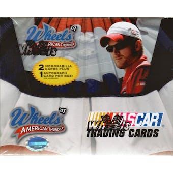 2007 Press Pass Wheels American Thunder Racing Hobby Box