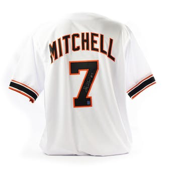 Kevin Mitchell Autographed San Francisco Giants Custom Baseball Jersey (DACW COA)