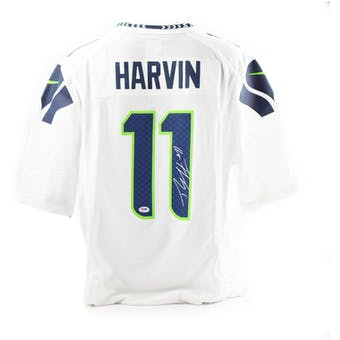 Percy Harvin Autographed Seattle Seahawks NFL Nike Football Jersey (PSA COA)