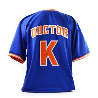 "Dwight Gooden ""Doctor K"" Autographed New York Mets Custom Baseball Jersey (DACW COA)"