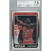 1988/89 Fleer Basketball #17 Michael Jordan BGS 7.5 (NM+) *1710 (Reed Buy)