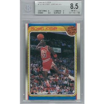 1988/89 Fleer Basketball #120 Michael Jordan AS BGS 8.5 (NM-MT+) *1706 (Reed Buy)