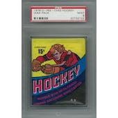 1978/79 O-Pee-Chee Hockey Wax Pack PSA 9 (Mint) *2122 (Reed Buy)