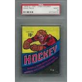 1978/79 O-Pee-Chee Hockey Wax Pack PSA 9 (Mint) *2070 (Reed Buy)